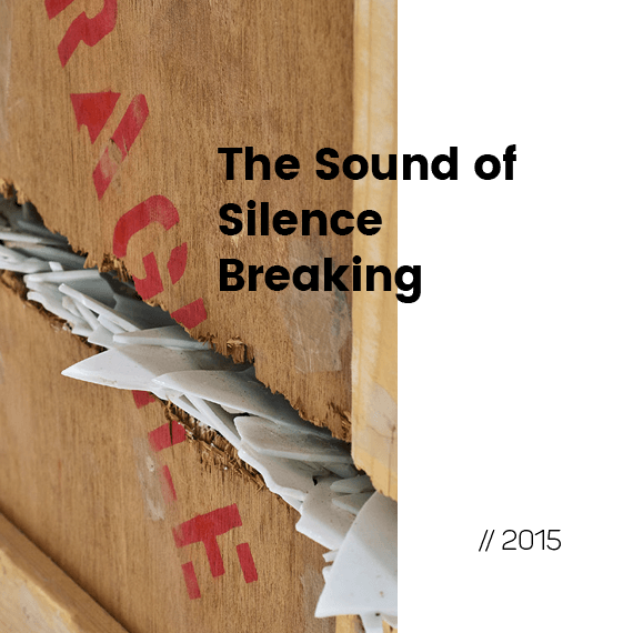 The Sound of Silence Breaking