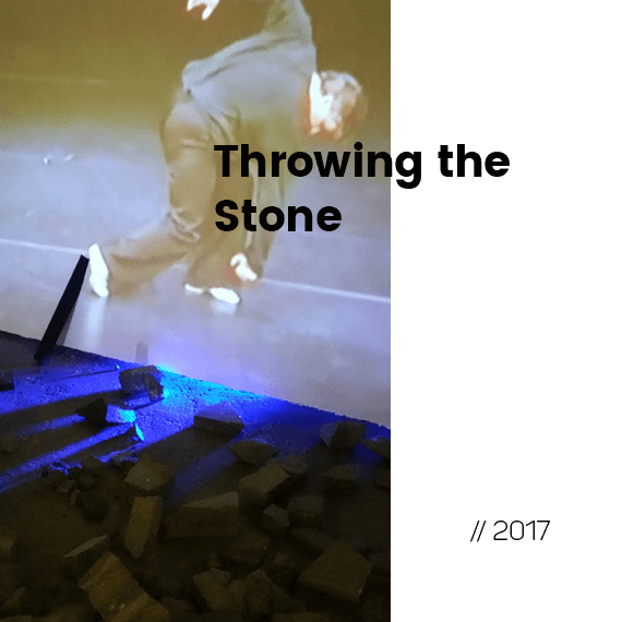 Throwing the Stone